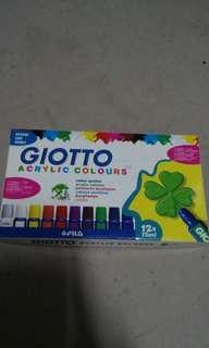 Free Giotto Acrylic Colours