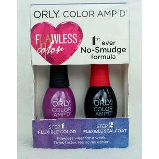 ORLY Color Amp'd Nail Polish Kit - Valley Girl +Sealcoat SET (COD IS AVAILABLE)