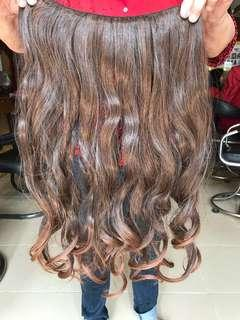 Hairclip curly 50cm