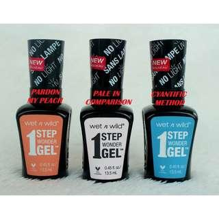 WET N WILD 1 STEP WONDER NAIL COLOR 13.5 ML (COD IS AVAILABLE)