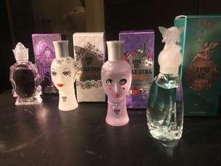 Anna Sui Fragrance Miniature 香水 dolly girl secret wish forbidden affair