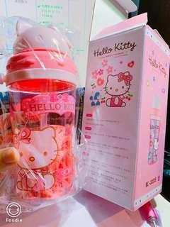 🚚 全新hello kitty水壺