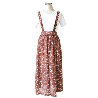 [Runningaries] 半身裙褲兩件套