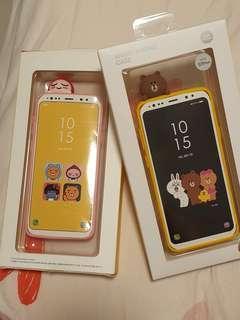 Line friends Samsung S9 Plus rubber case