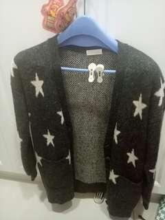 🚚 星星外搭毛衣