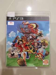 Ps3 games one piece unlimited world