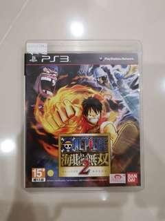 Ps3 games one piece wu shuang 2