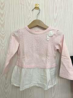 Polkadot pink top