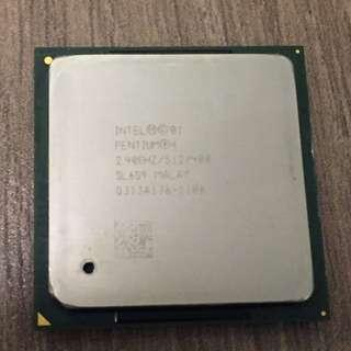 Intel Pentium 4 2.4Ghz CPU Socket 478 FSB400 512K