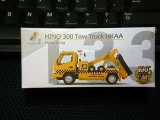 Tiny 微影 Hino 300 Tow Truck HKAA 日野300 香港汽車會拖車 (100 週年紀念版)