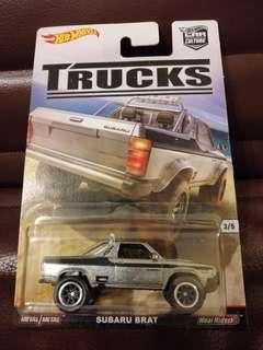Hot Wheels Subaru Brat Trucks