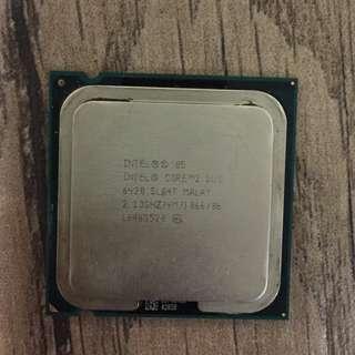 Intel Core 2 Duo 雙核 CPU LGA775 2.13Ghz FSB1066 4M
