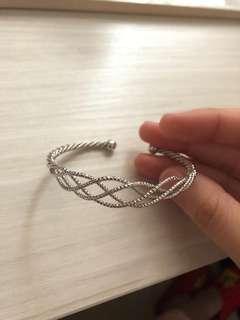 silver colour bracelet