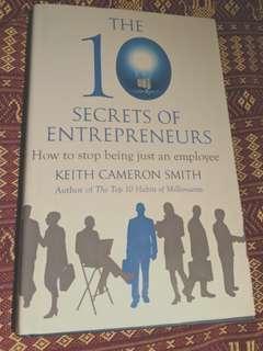 🚚 The 10 Secrets of Entrepreneurs