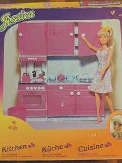 Pink Kitchen for Dolls