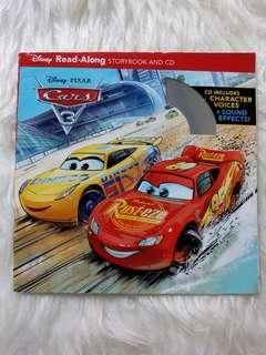 Cars 3 Story Book + CD