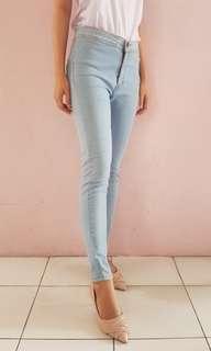 Celana Jeans Highwaist Punny