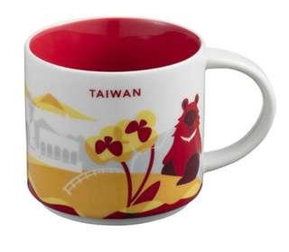 Sturbucks Collection mug Taiwan