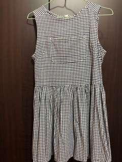 🚚 Baby doll Checkered dress