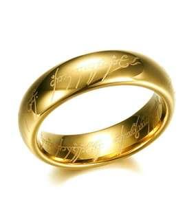 Cincin Lord of The Ring Stainless Steel