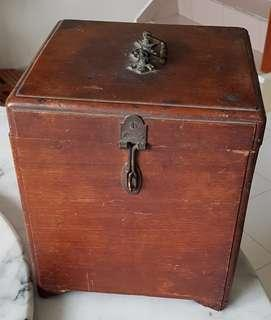 Old charming collectible wooden box