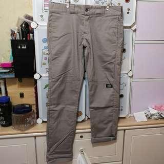 Dickies grey Chino pants skinny 灰色長褲