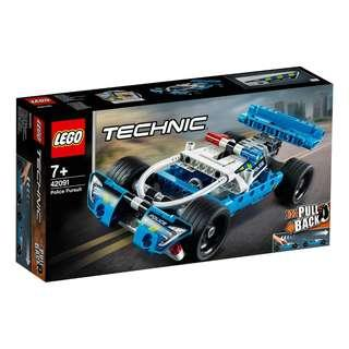 Lego Technic   42089   Power Boat /Lego Technic   42091  Police Pursuit