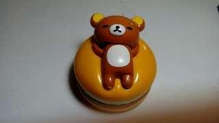 鬆弛熊麥當勞玩具