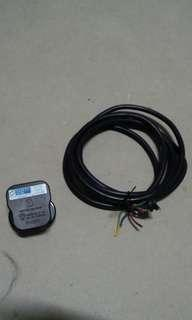 3 pin UK plug + 1.9m 3 core power cable