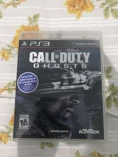 CD PS3 Call of Duty Ghost