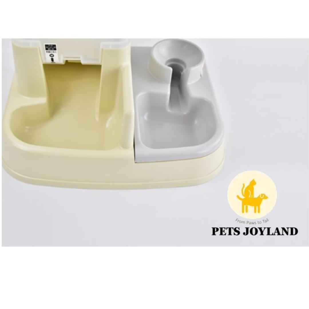 2-in-1 Food and Water Auto Feeder