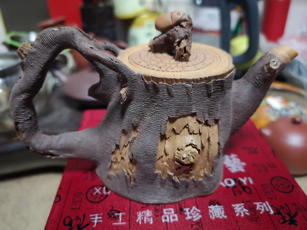 宜兴紫砂壶纯手工茶壶原矿段泥泡茶壶名家陈东铸功夫茶具老壶