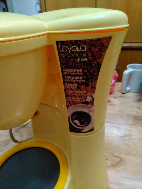 美式咖啡萃取壺 咖啡機多段可調 保溫底座(鵝黃色)