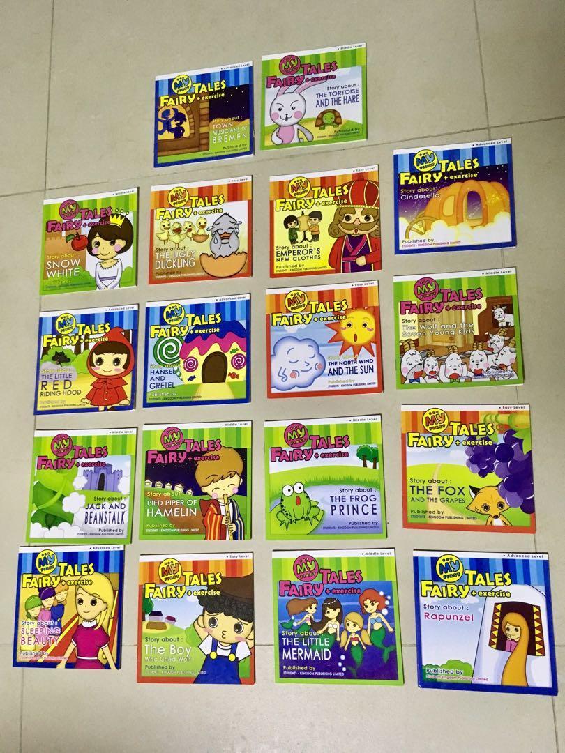 中英對照 18本 有趣 童話故事