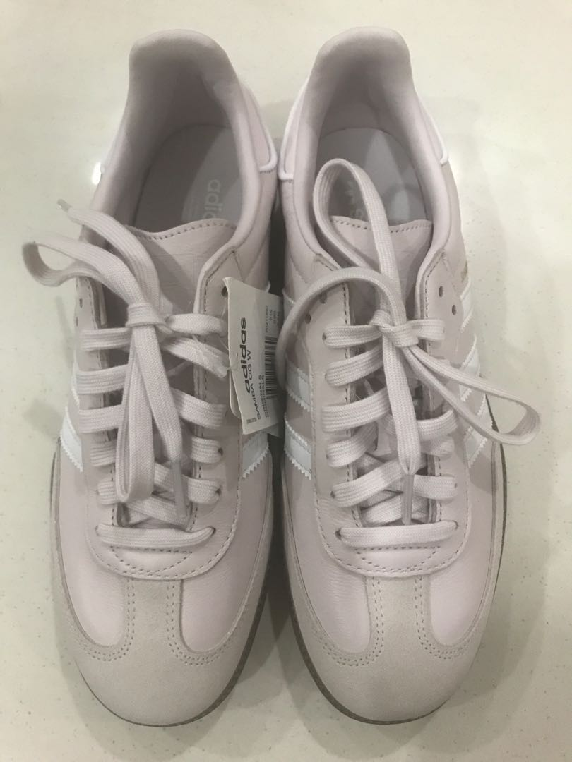 the latest 03a48 f6c61 Adidas Samba OG Leather Sneakers, Women s Fashion, Shoes, Sneakers ...
