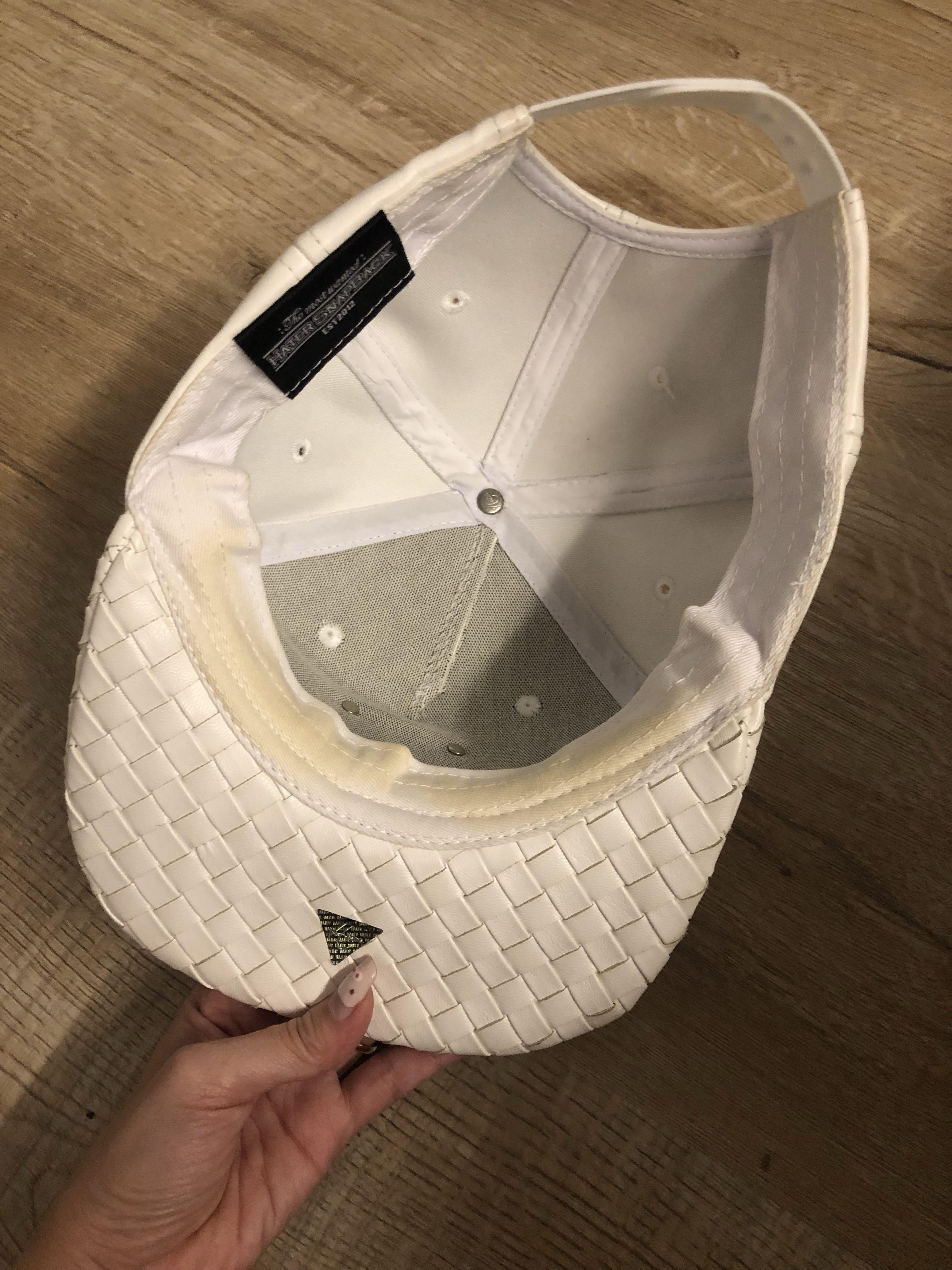 authentic white hater cap