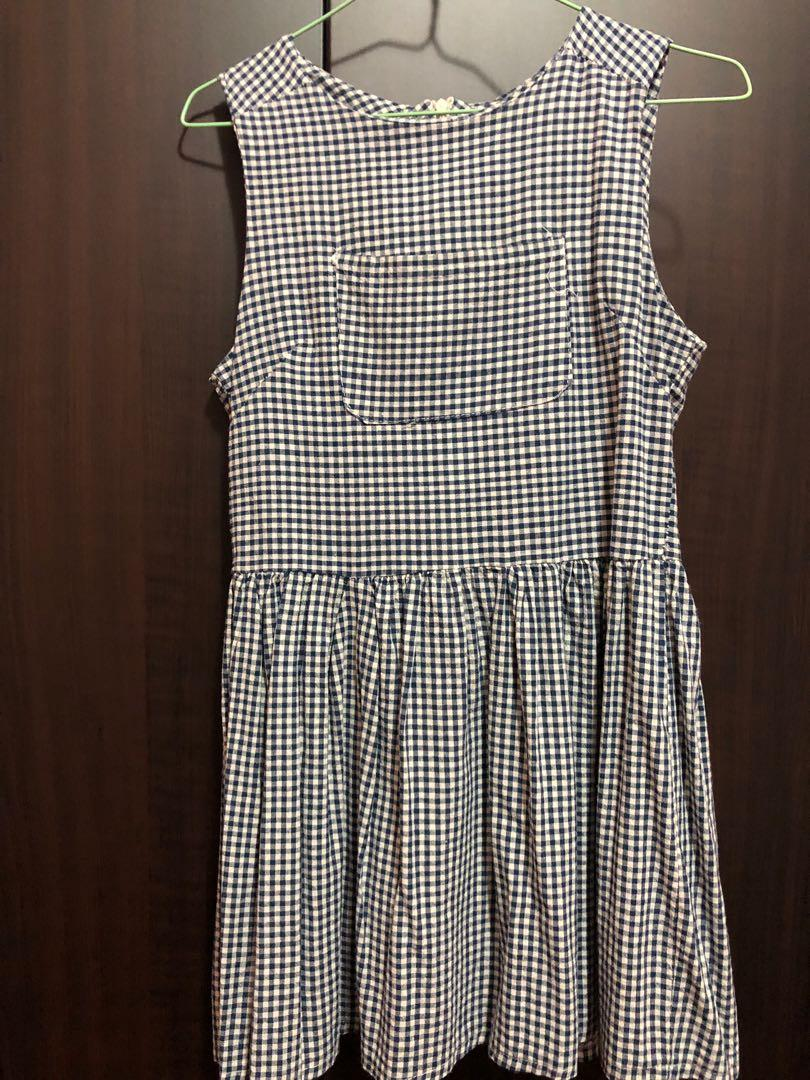 Baby doll Checkered dress