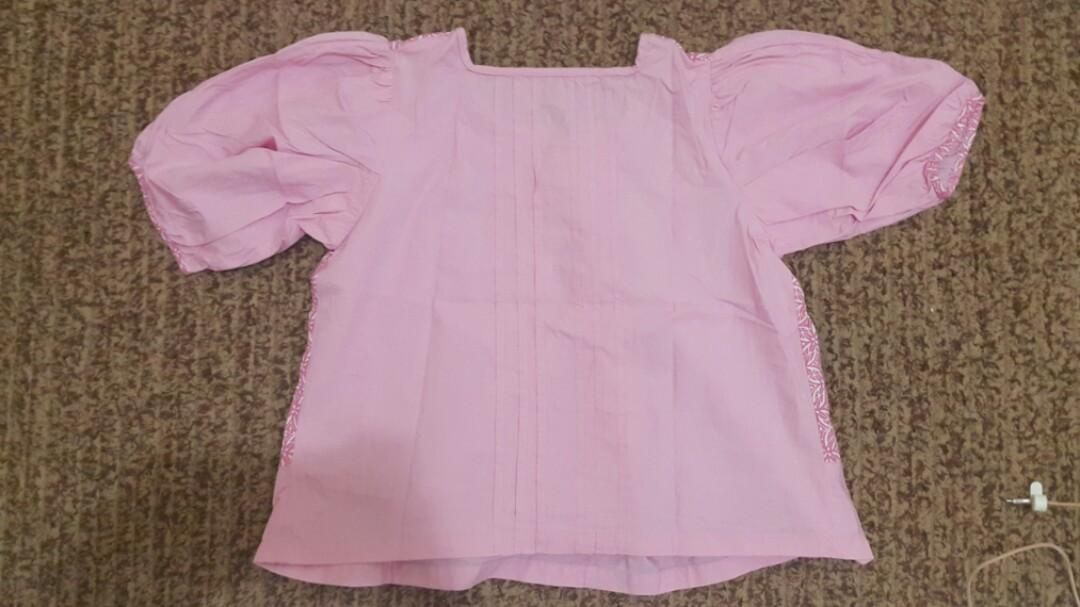 Babydoll Batik Keraton Pink