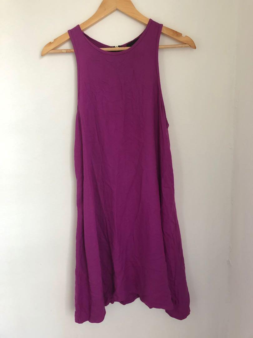 Bamboo blonde dress size 8