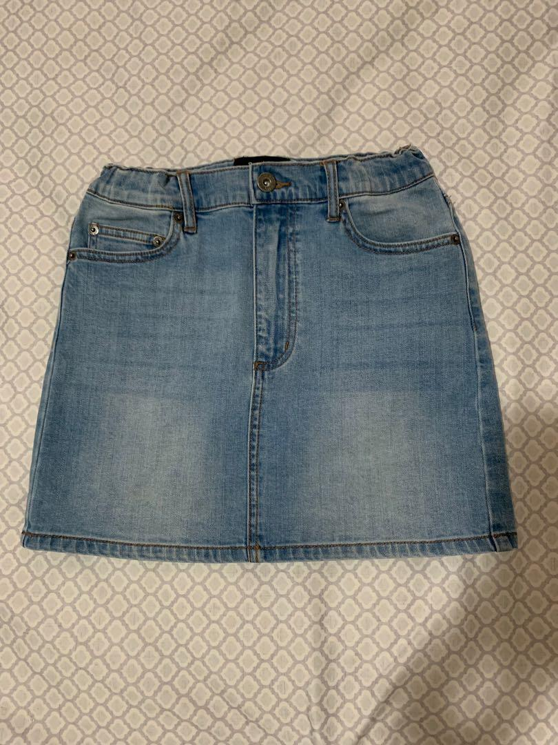 Bardot junior denim skirt