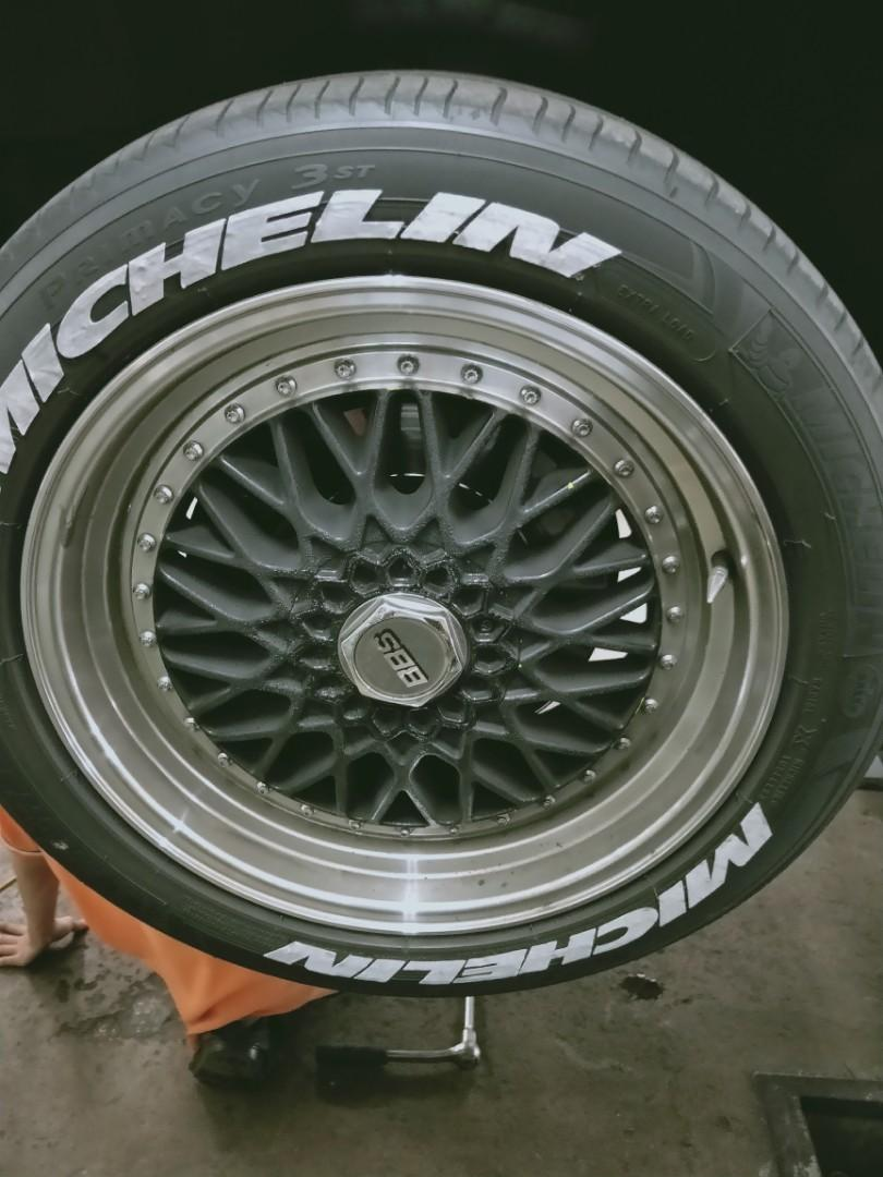 """CHEAP!! BBS 17"""" Rims with michelin tyres"""