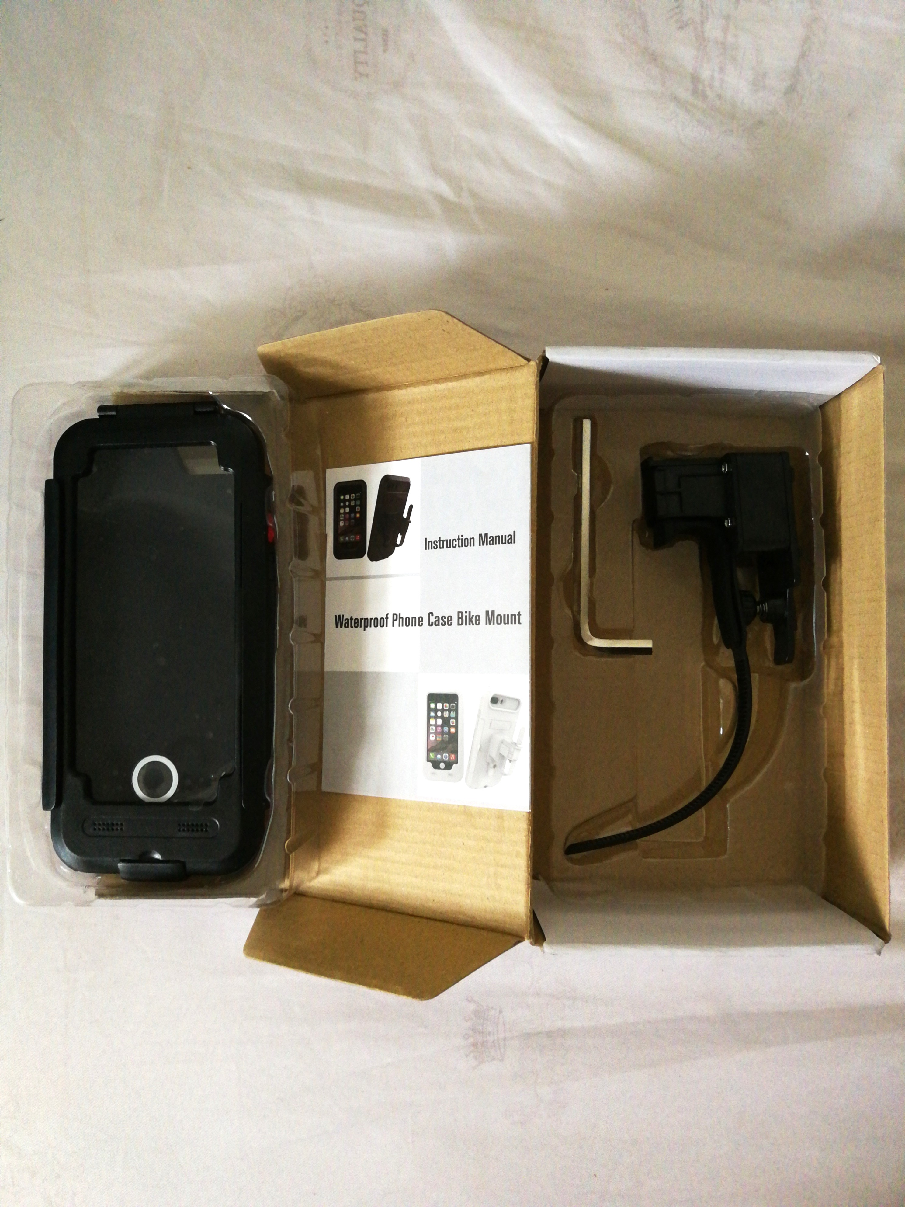 huge selection of 7cc0f e2c4b Bike Mount with Waterproof Phone Case(iPhone)