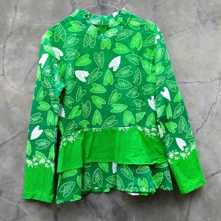 Blouse Peplum Batik
