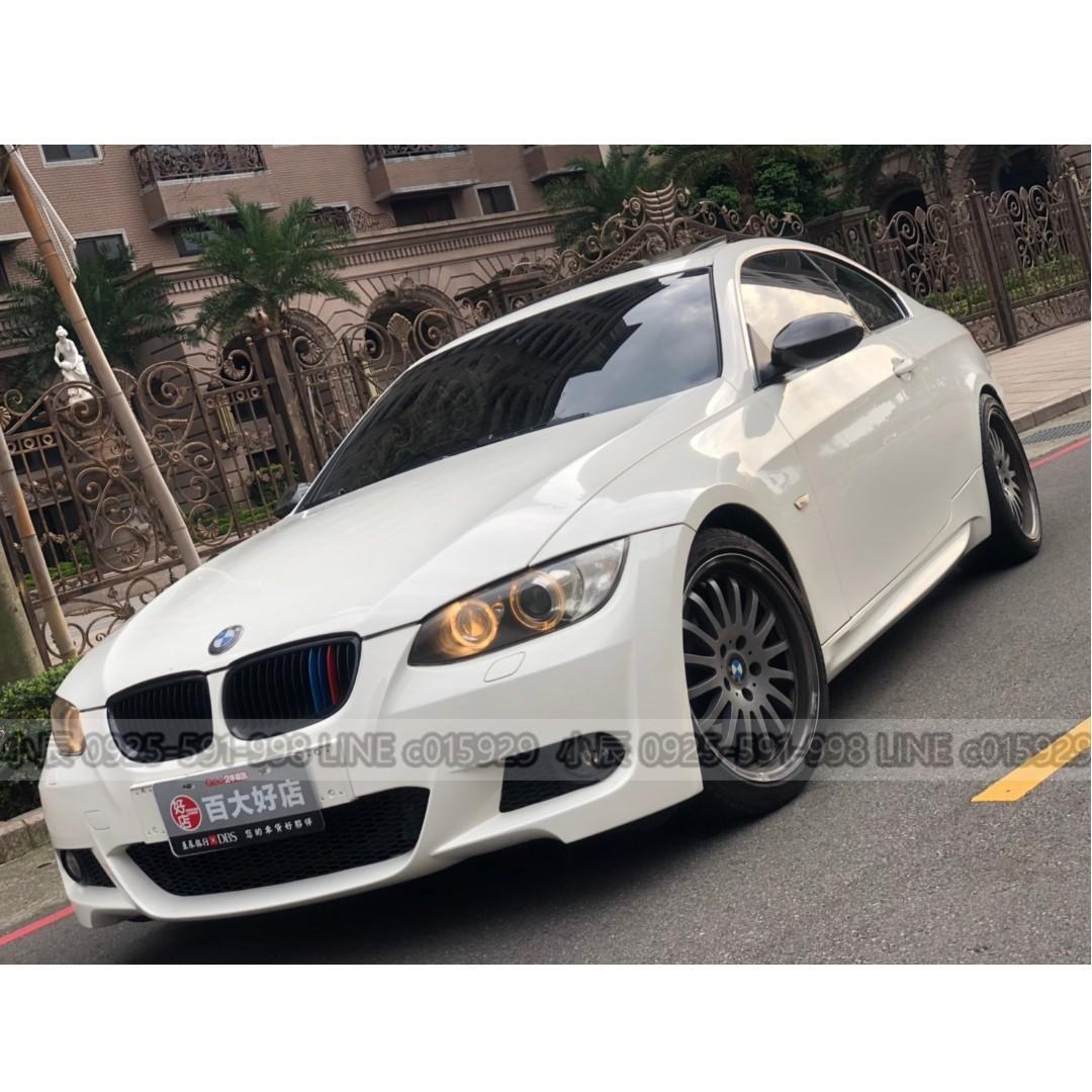 BMW 335CI 拉風雙門轎跑 審核個人貸款額度 強力過件低利率 LINE:c015929