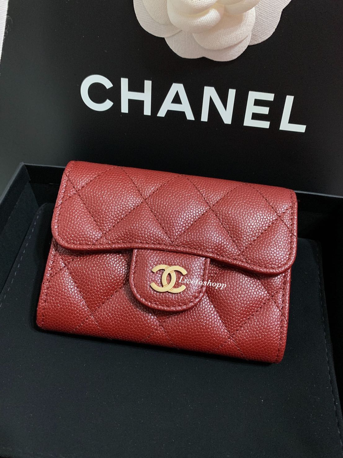 b59ab90146b4 Brand New Chanel 18C XL Card Holder / Coin Purse, Luxury, Bags ...