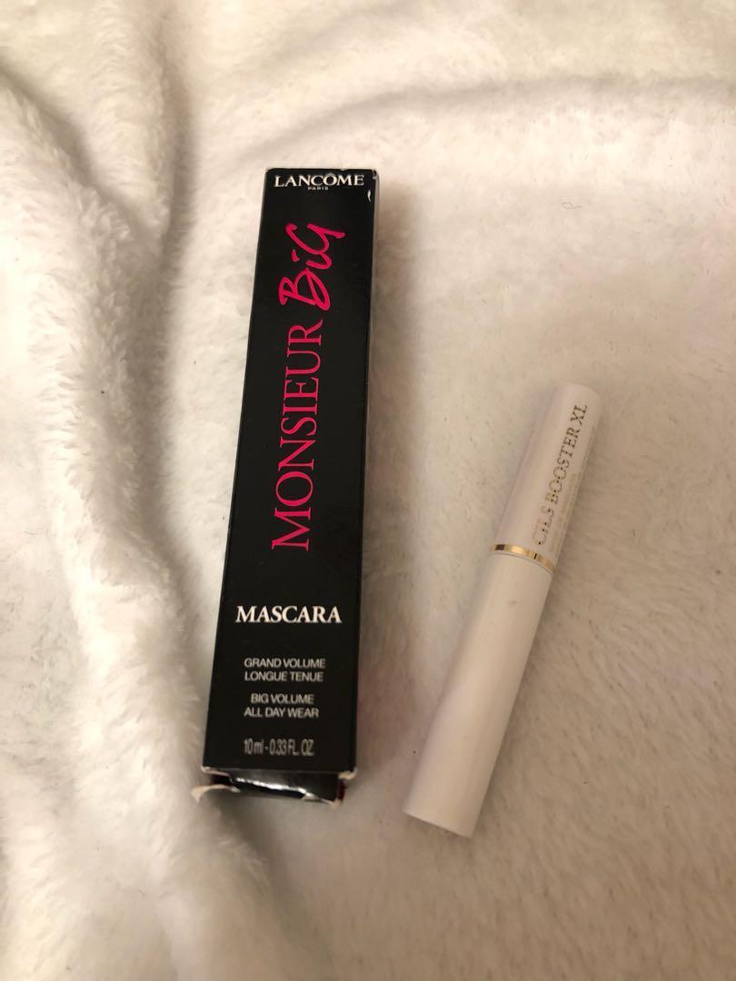 Brand New Lancôme - Monsieur Big Mascara & mini Cils Booster XL Mascara Primer