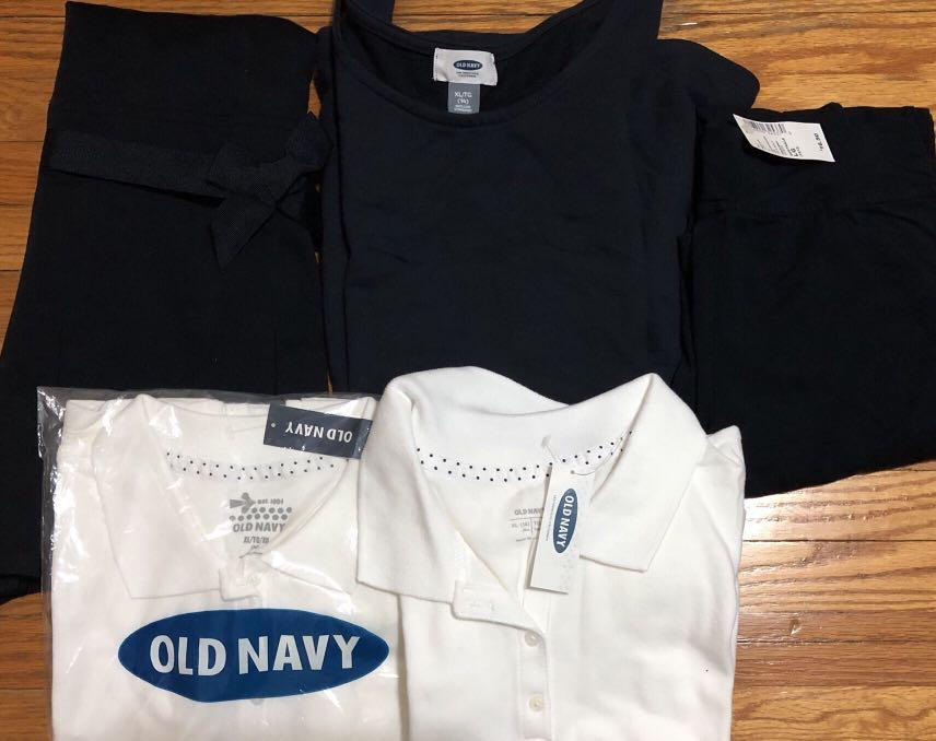 Brand new navy blue school uniform for girls ( Brand: old navy and children's place)