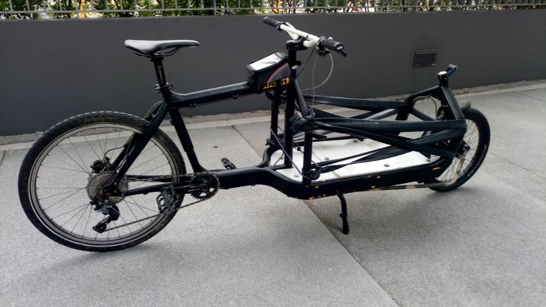 Bullitt Cargo Bike For Bicycles