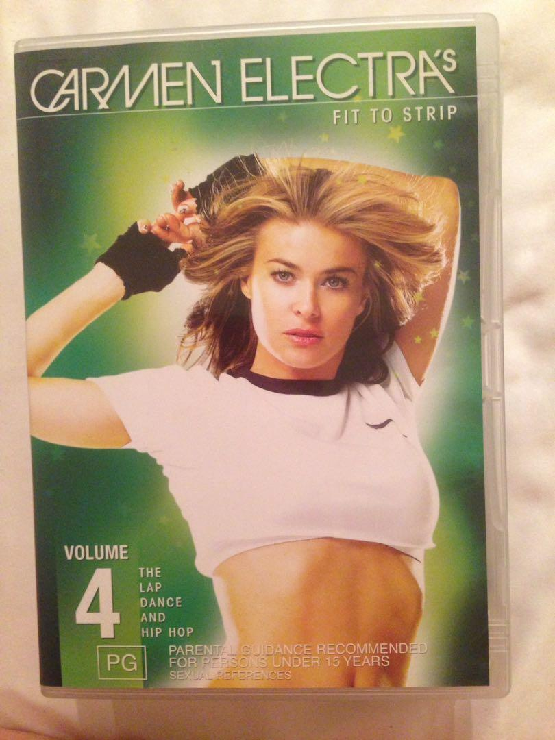 Carmen Electra Fit to Strip Volume 4 dvd