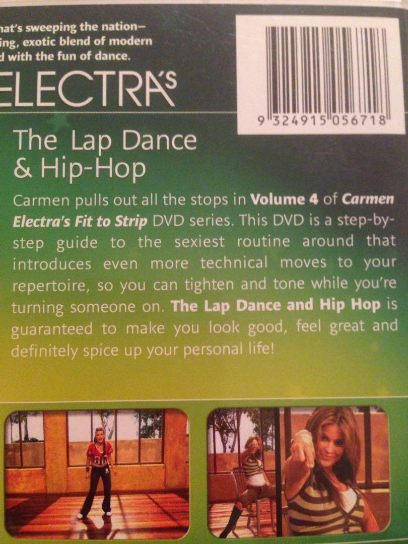Carmen Electra Fit to Strip Volume 4 dvd